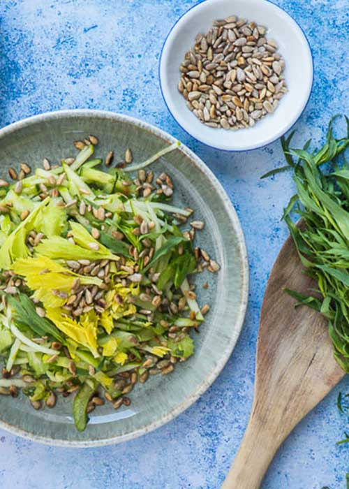 salat-staudensellerie-granny-smith-gurke-estragon