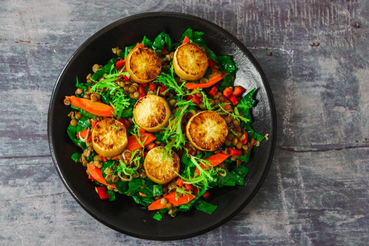 geschmorter-rettich-linsensalat