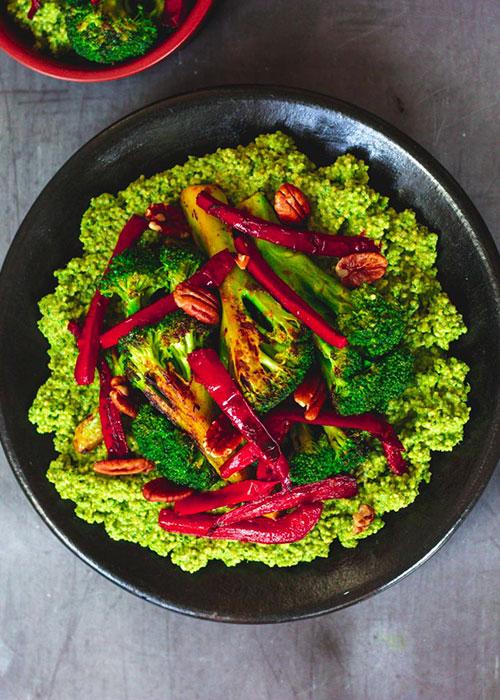 grüne-hirse-brokkoli-paprika