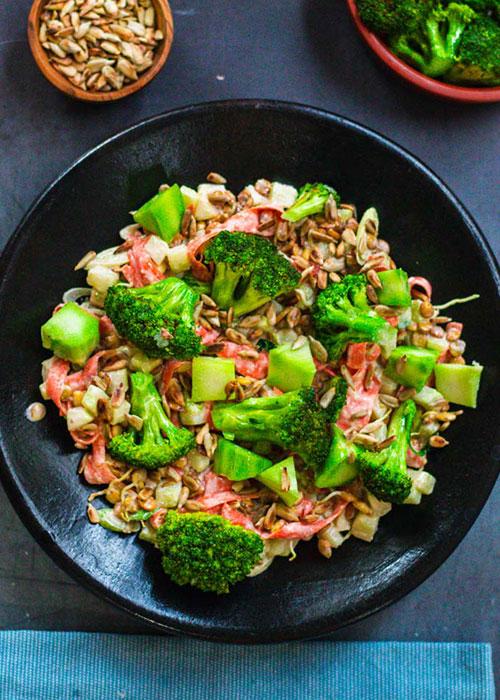 salat-linsensprossen-brokkoli