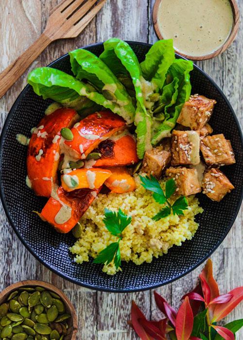 kürbis-bowl-hirse-tofu